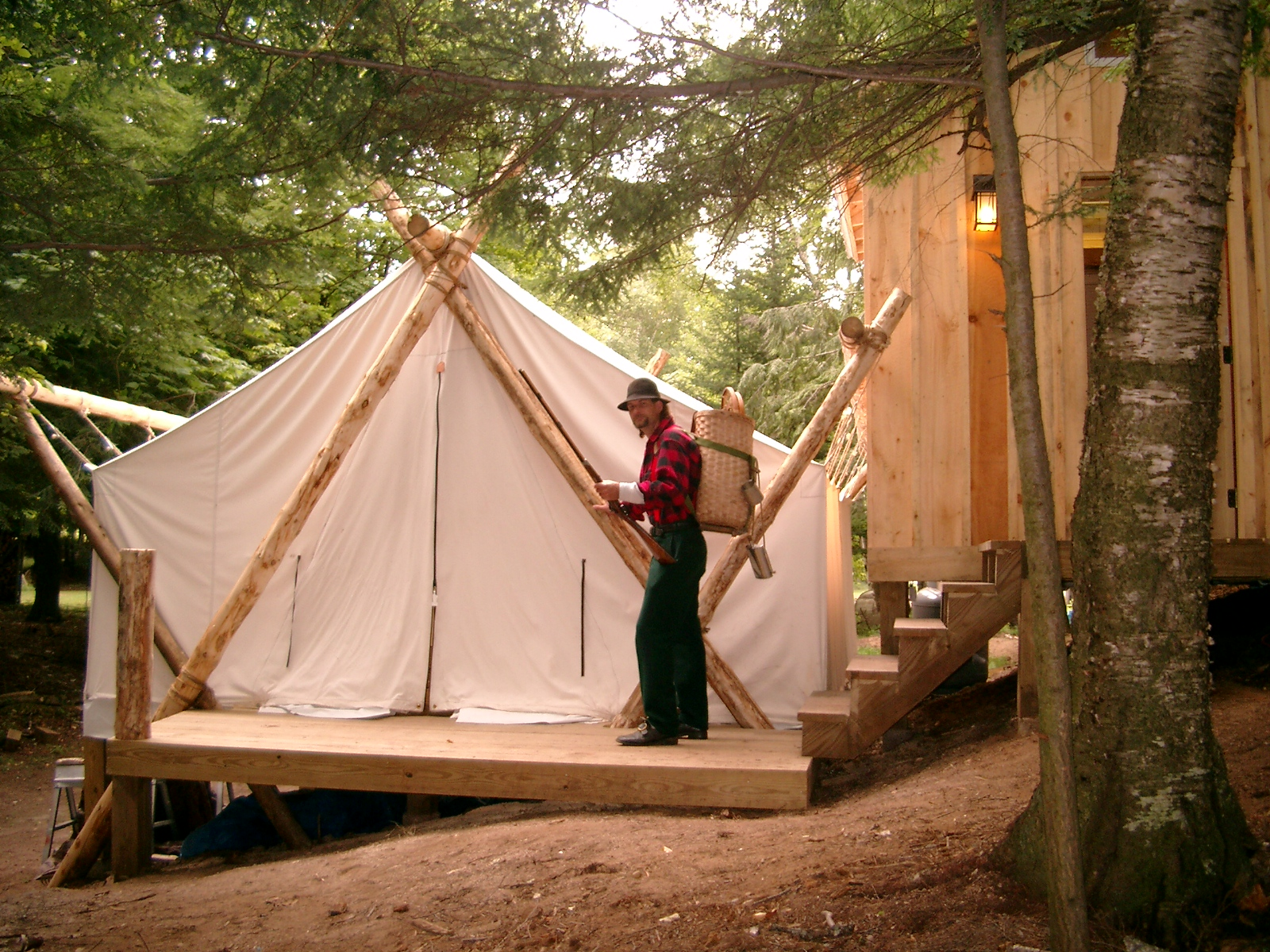 & Guide Tent #400 Lakeside $165 | The Woods Inn